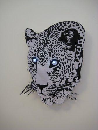 Gepard, 2 lysdioder med lyssensor