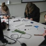 Studenter i full konsentrasjon